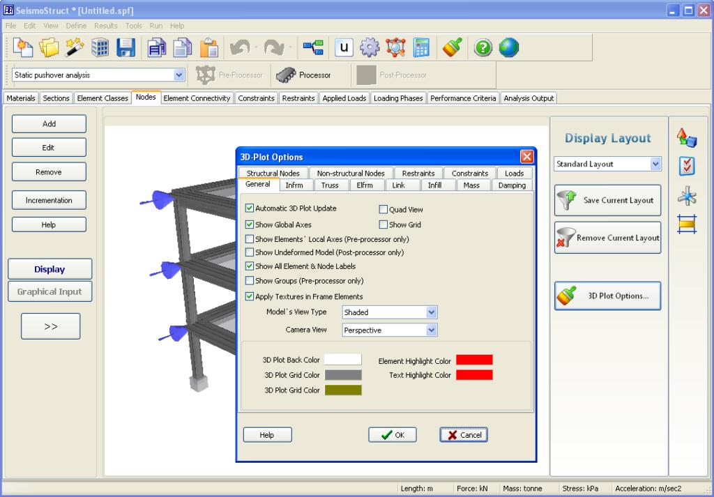 SeismoStruct Screenshot Software